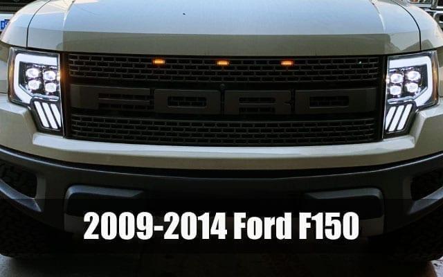AlphaRex 2009 2010 2011 2012 2013 2014 Ford F150 PRO-Series and NOVA-Series Projector Headlights