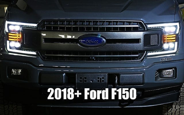 AlphaRex 2018 2019 Ford F150 PRO-Series and NOVA-Series Projector Headlights