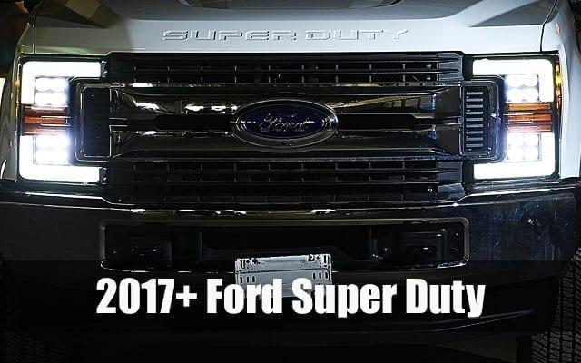 AlphaRex 2017 2018 2019 Ford F250 F350 F450 F550 Super Duty PRO-Series and NOVA-Series Projector Headlights