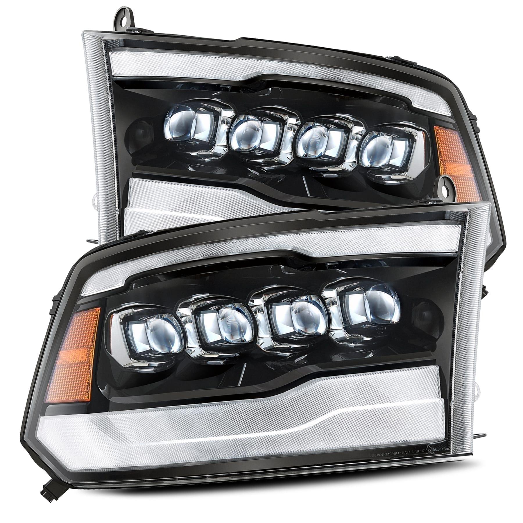 FOR 09-18 RAM TRUCK LEFT FACTORY STYLE HEADLIGHT LAMP ASSEMBLY 12 13 14 15 16 17