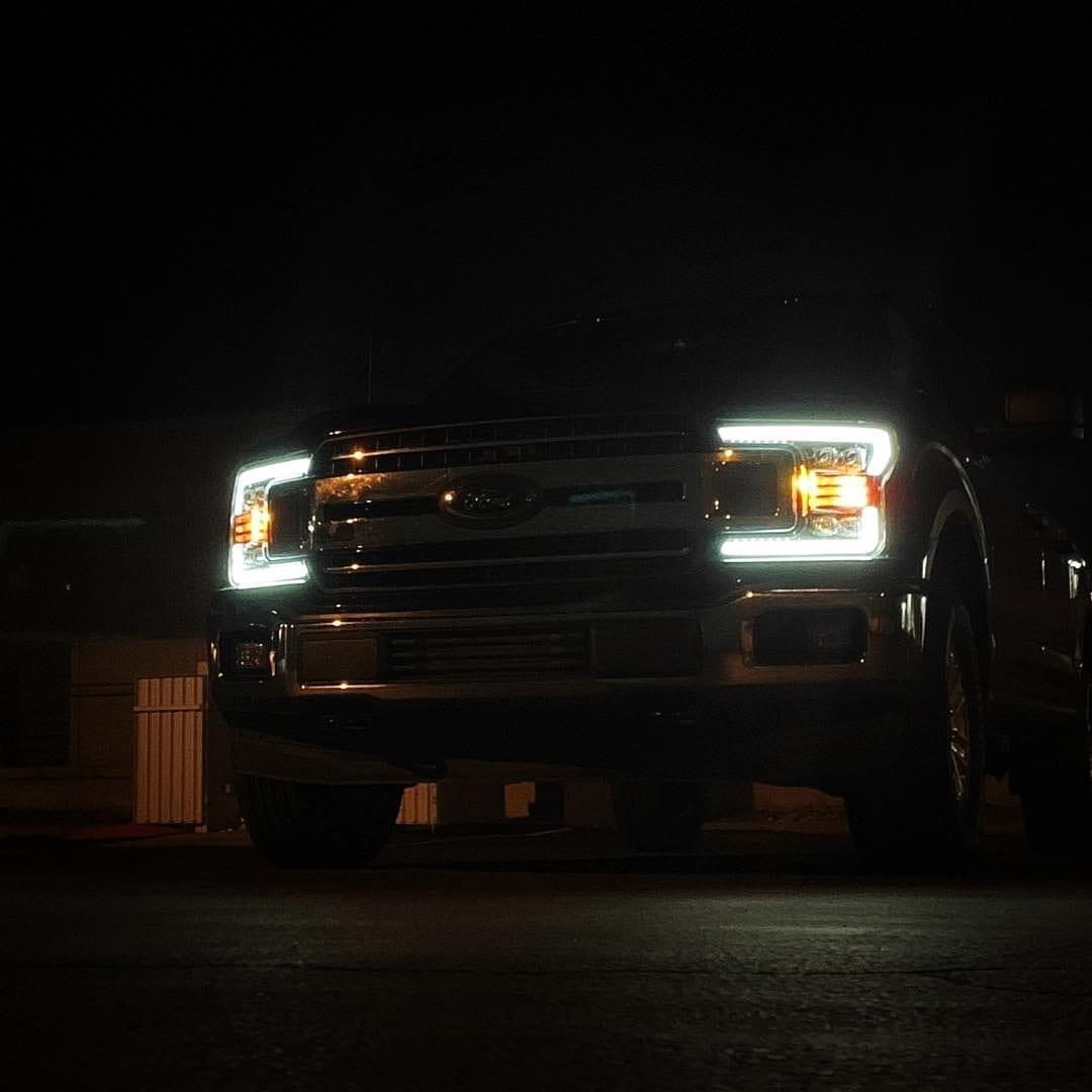 AlphaRex Projector Headlights DRL Demo