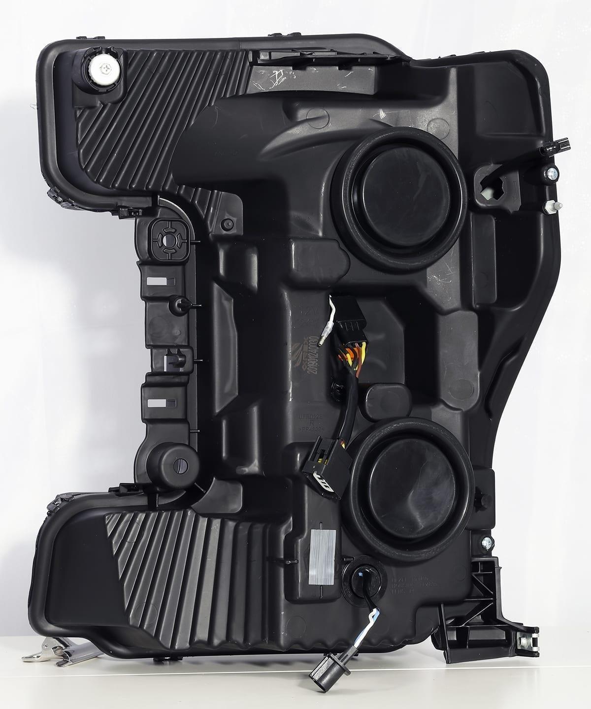 Back view 2017 2018 2019 Ford Super Duty F250 F350 F450 F550 PRO-Series Projector Headlights
