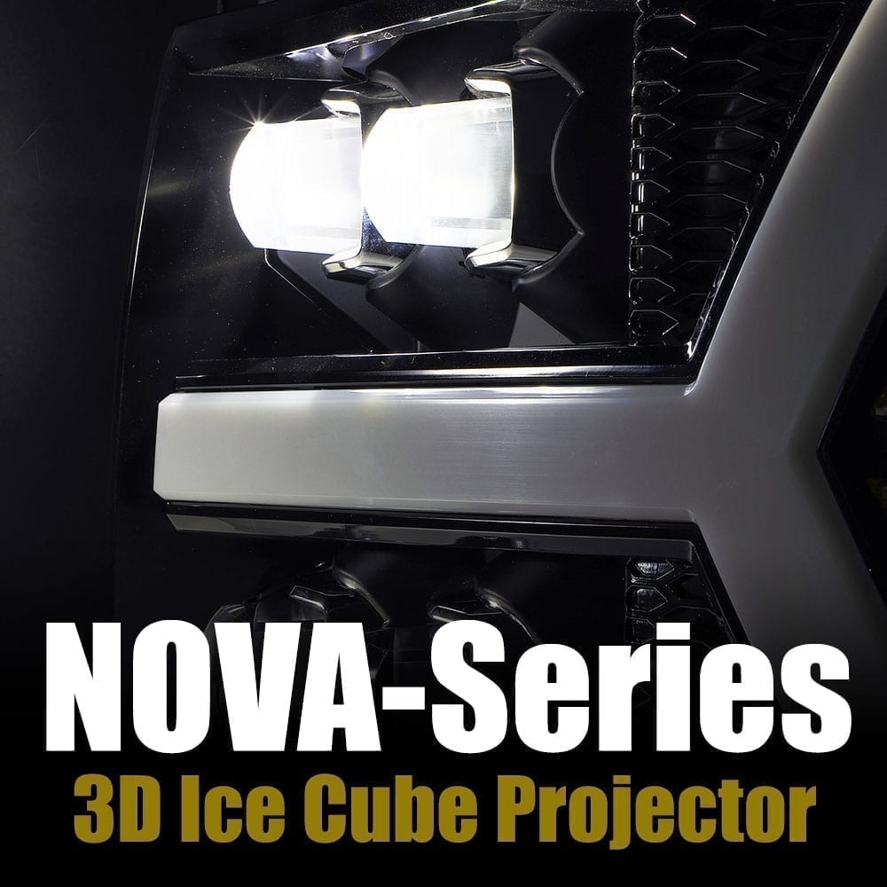 AlphaRex NOVA-Series 3D Ice Cube Projector Lens