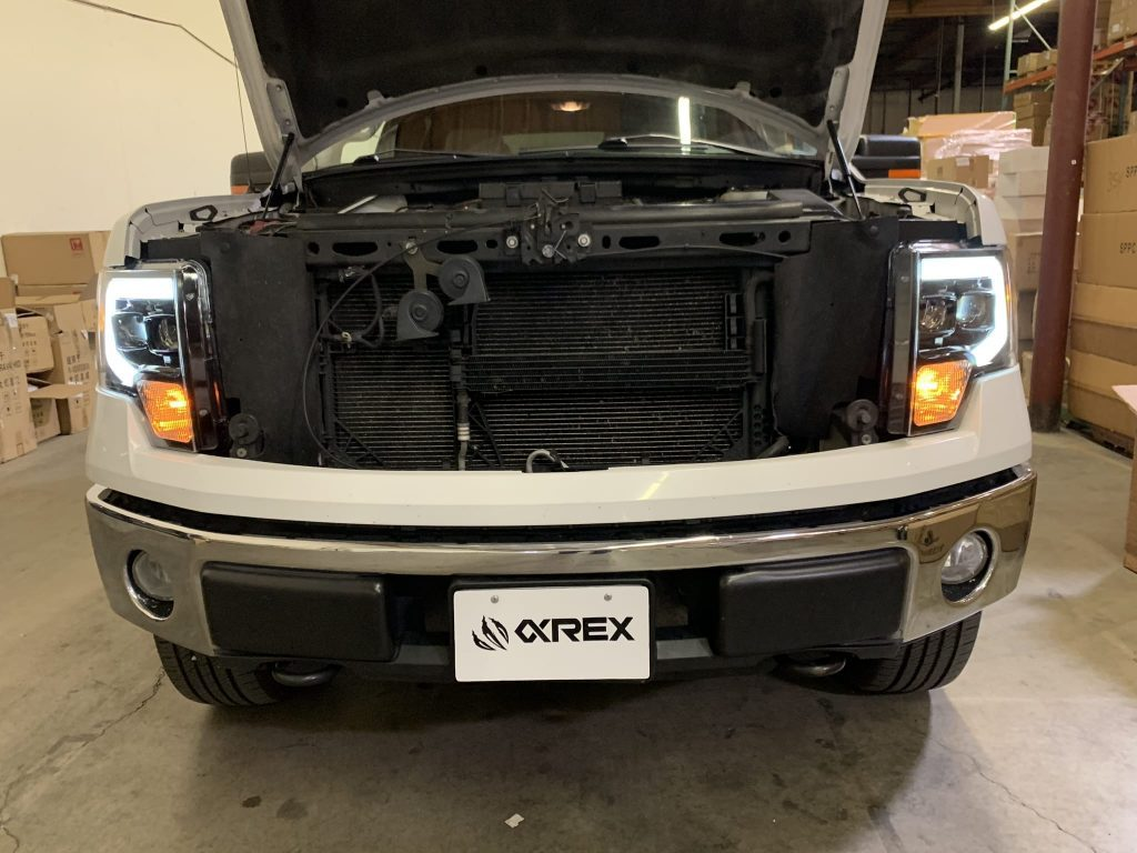 AlphaRex Ford F150 2009 2010 2011 2012 2013 2014 Projector Headlights Installation Guide