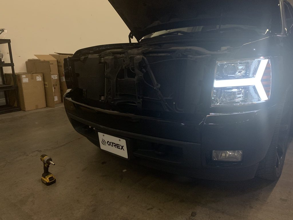 AlphaRex Chevy Silverado 2007 2008 2009 2010 2011 2012 2013 Projector Headlights Installation Guide