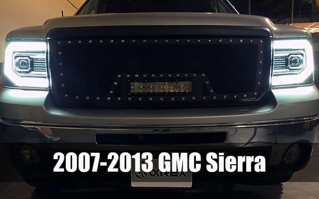 2007 2008 2009 2010 2011 2012 2013 GMC Sierra PRO-Series Projector Headlights