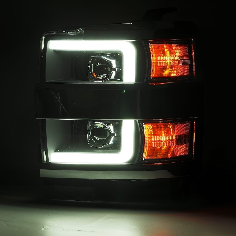 AlphaRex 2015 2016 2017 2018 2019 Chevrolet Silverado 2500HD/3500HD PRO-Series Projector Headlights
