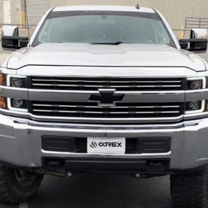 AlphaRex 2015 2016 2017 2018 2019 Chevrolet Silverado 2500HD/3500HD PRO-Series Projector Headlights Black