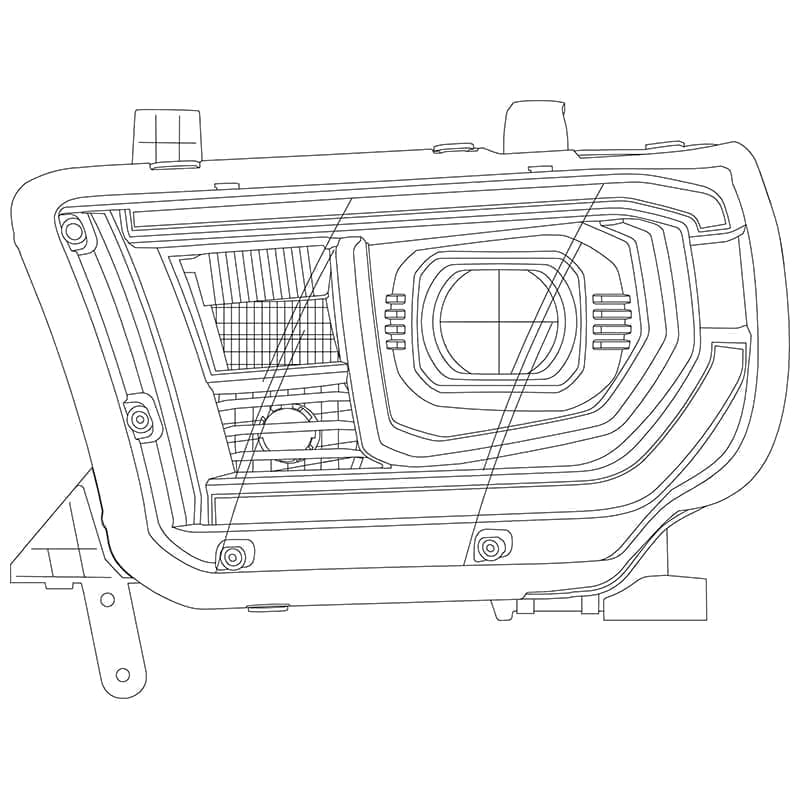 2007-2008-2009-2010-2011-2012-2013-toyota-tundra-pro-series-projector-headlights-design