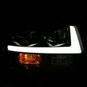 AlphaRex 2007 2008 2009 2010 2011 2012 2013 2014 Chevy Tahoe Suburban Avalanche PRO-Series Projector Headlights
