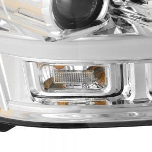AlphaRex 2007 2008 2009 2010 2011 2012 2013 2014 Chevy Tahoe Suburban Avalanche PRO-Series Projector Headlights Chrome
