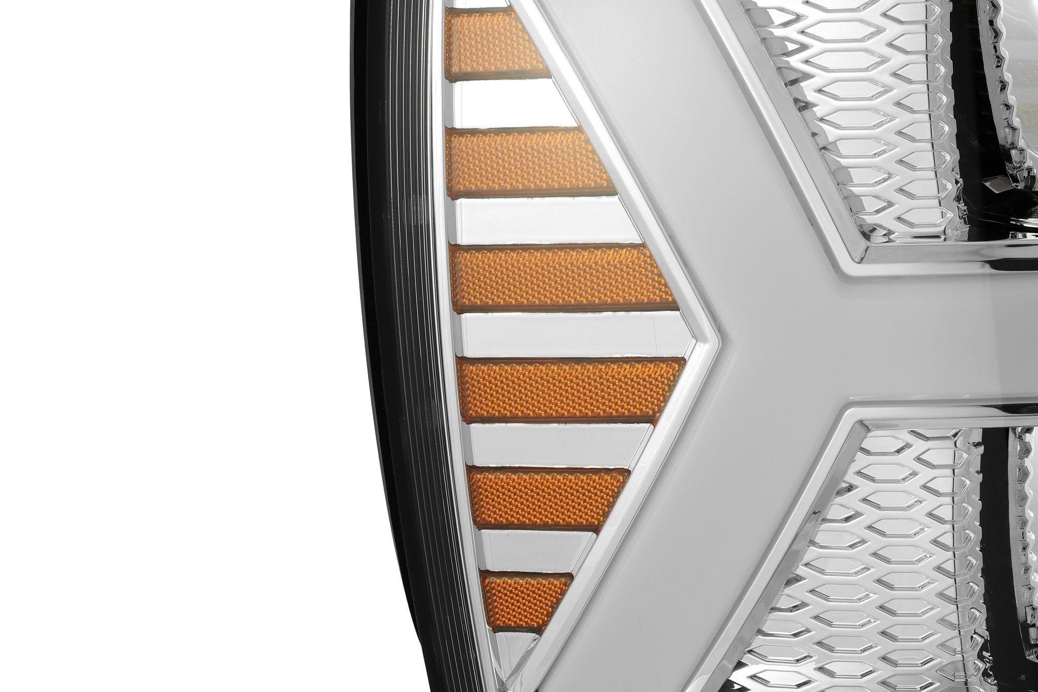 AlphaRex 2007 2008 2009 2010 2011 2012 2013 Chevrolet Silverado NOVA-Series Full LED Projector Headlights Chrome