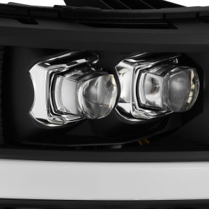 AlphaRex 2007 2008 2009 2010 2011 2012 2013 Chevrolet Silverado NOVA-Series Full LED Projector Headlights Black