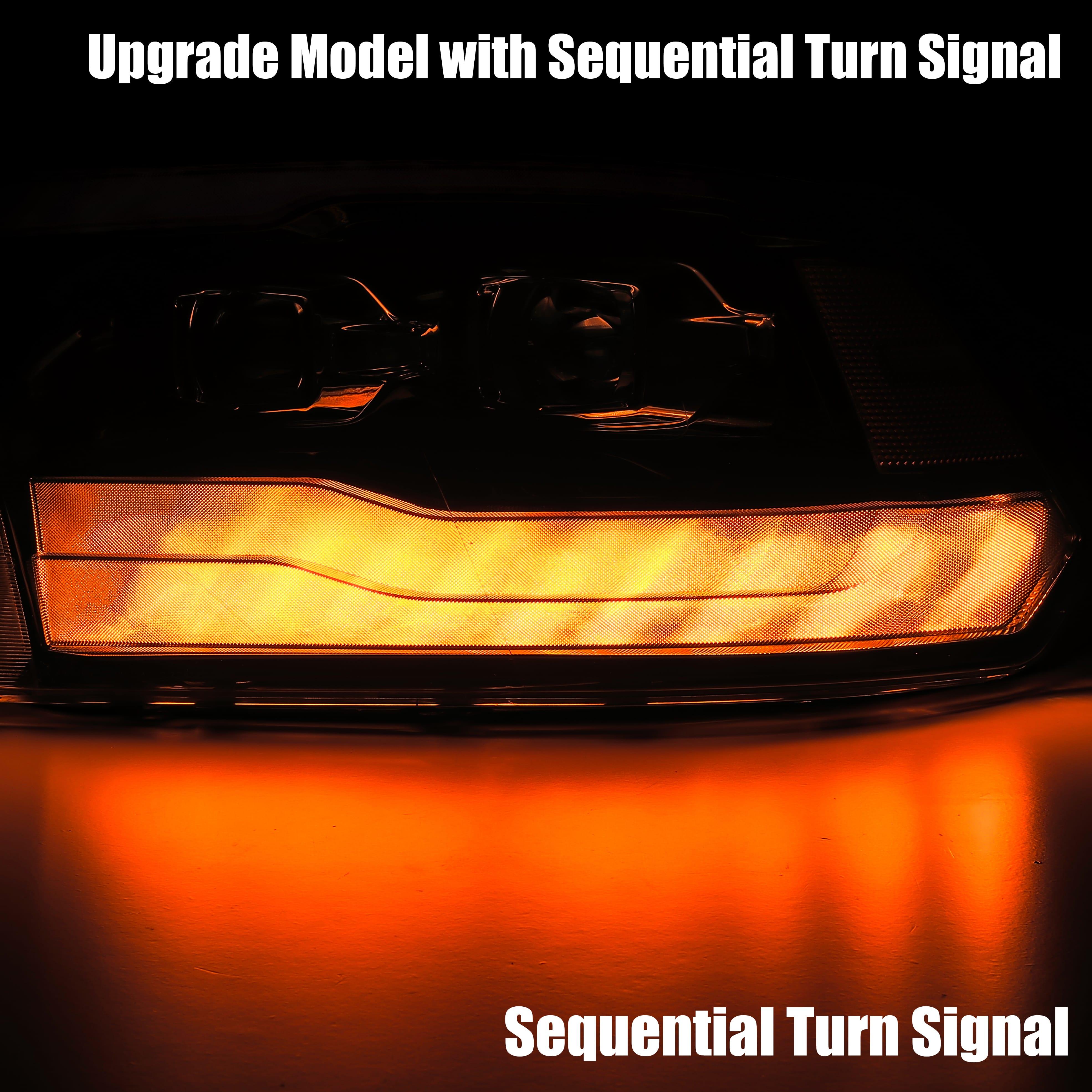 Signal light 2009 2010 2011 2012 2013 2014 2015 2016 2017 2018 Ram Truck 1500/2500/3500 PRO-Series Projector Headlights