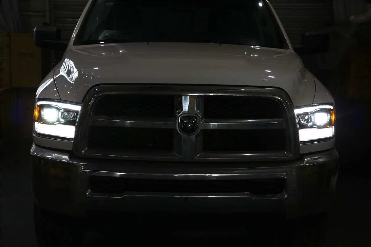 2009 2010 2011 2012 2013 2014 2015 2016 2017 2018 Dodge Ram PRO-Series G2 Projector Headlights