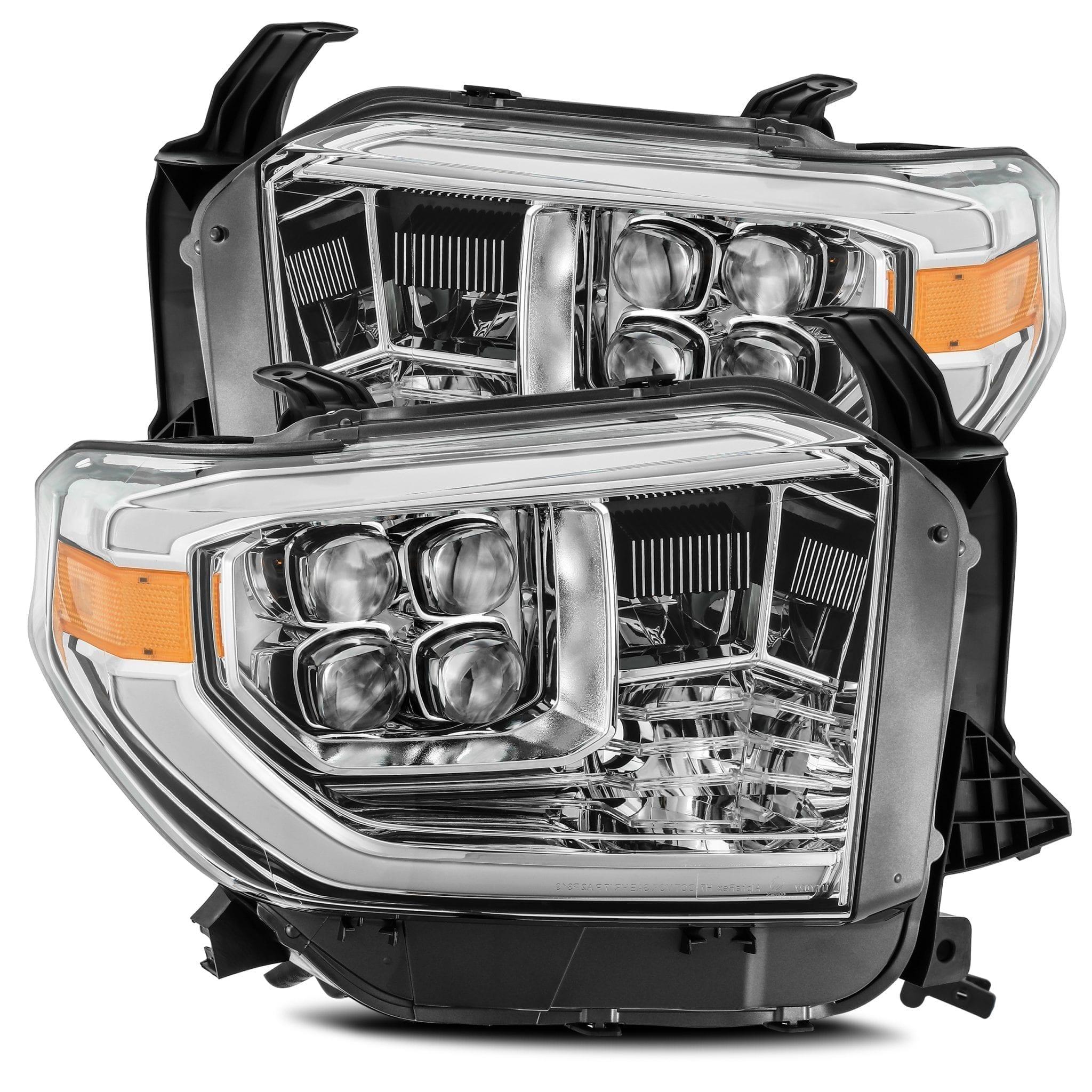 2014 2015 2016 2017 2018 2019 Toyota Tundra NOVA-Series Full LED Projector Headlights Chrome