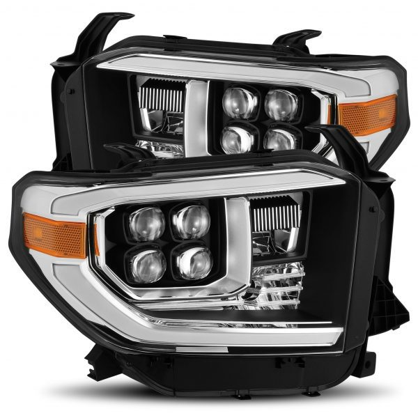 2014 2015 2016 2017 2018 2019 Toyota Tundra NOVA-Series Full LED Projector Headlights Black