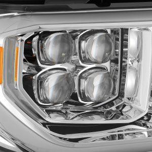 2007 2008 2009 2010 2011 2012 2013 Toyota Tundra Sequoia NOVA-Series Full LED Projector Headlights Chrome