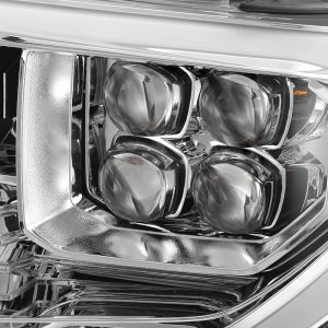 2014 2015 2016 2017 2018 2019 Toyota Tundra NOVA-Series Full LED Projector Headlights Chrome