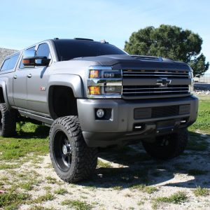 2015 2016 2017 2018 2019 Chevrolet Silverado 2500HD 3500HD NOVA-Series Full LED Projector Headlights