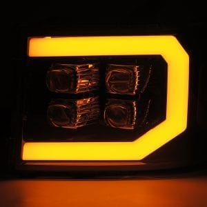 2007 2008 2009 2010 2011 2012 2013 GMC Sierra NOVA-Series Projector Headlights Signal