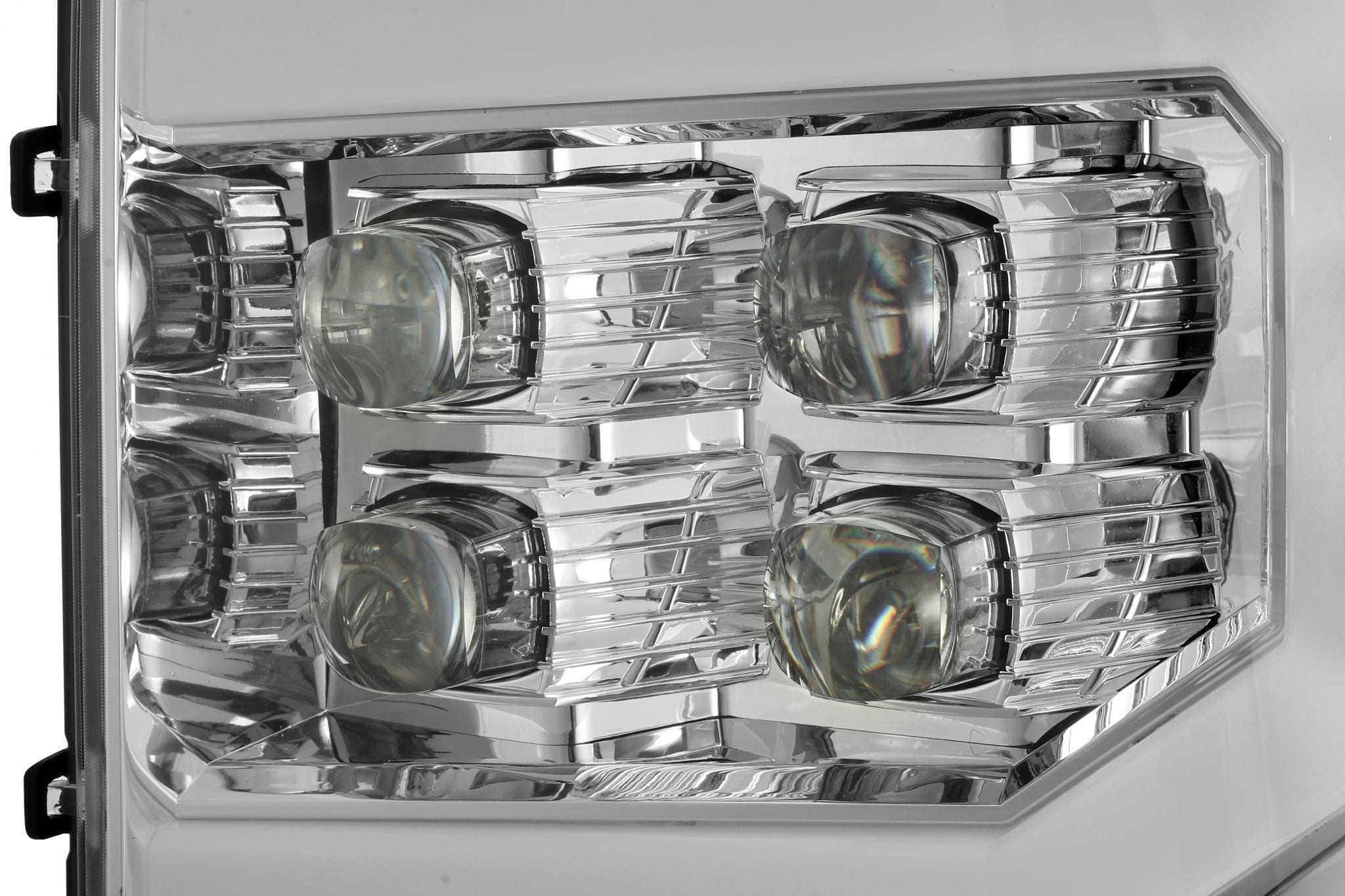 2007 2008 2009 2010 2011 2012 2013 GMC Sierra NOVA-Series Projector Headlights Chrome