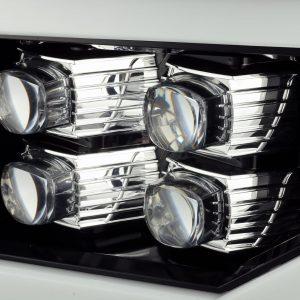 2007 2008 2009 2010 2011 2012 2013 GMC Sierra NOVA-Series Projector Headlights Jet Black
