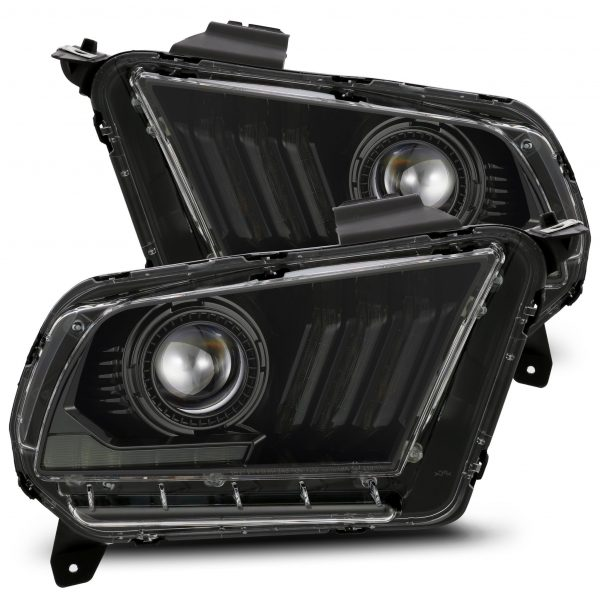 2010 2011 2012 Ford Mustang PRO-Series Projector Headlights Jet Black