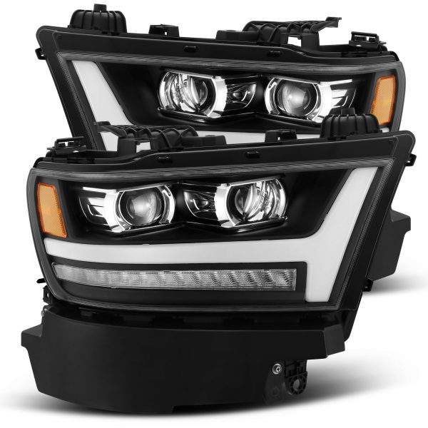 2019 2020 Ram 1500 PRO-Series Projector Headlights Black