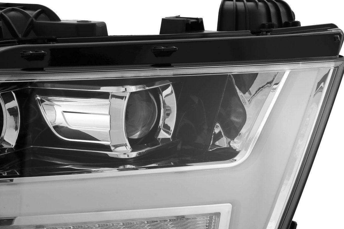 2019 2020 Ram 1500 PRO-Series Projector Headlights Chrome