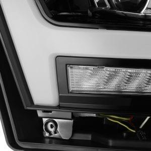 2019 2020 Ram 1500 PRO-Series Projector Headlights Jet Black