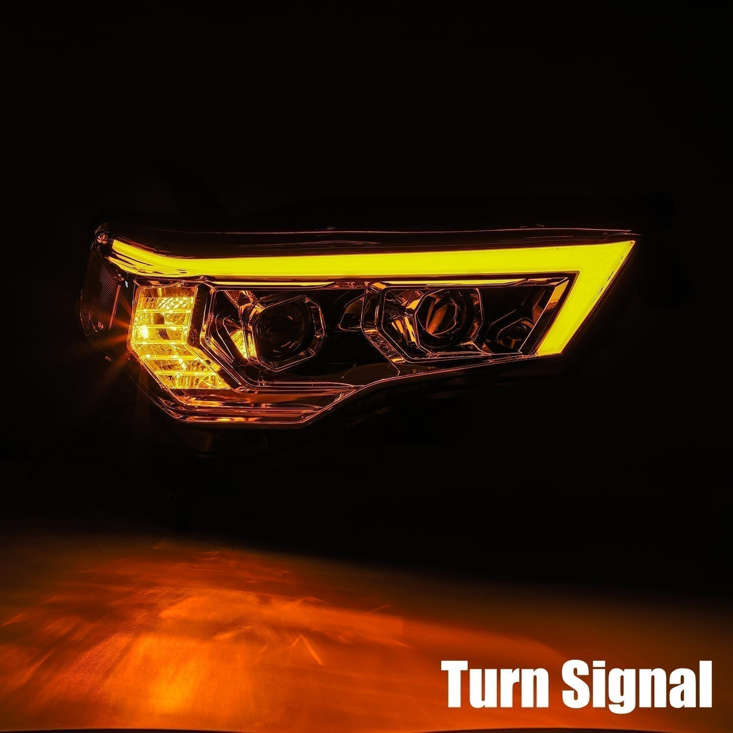 2014 2015 2016 2017 2018 2019 2020 Toyota 4Runner PRO-Series Projector Headlights
