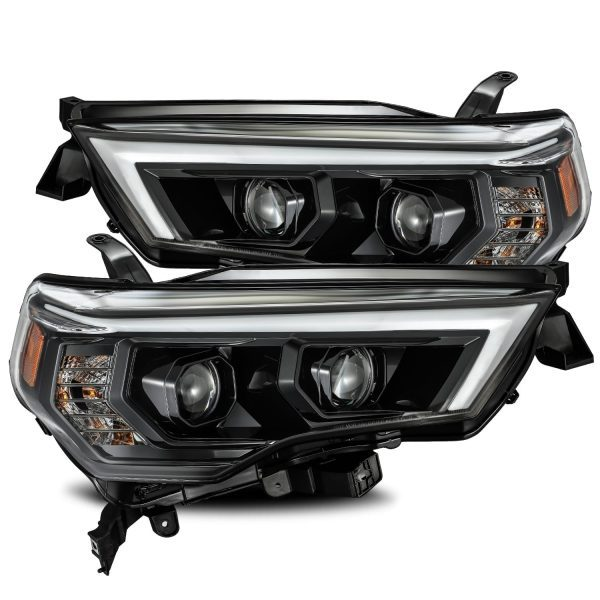 2014 2015 2016 2017 2018 2019 2020 Toyota 4Runner PRO-Series Projector Headlights Midnight Black