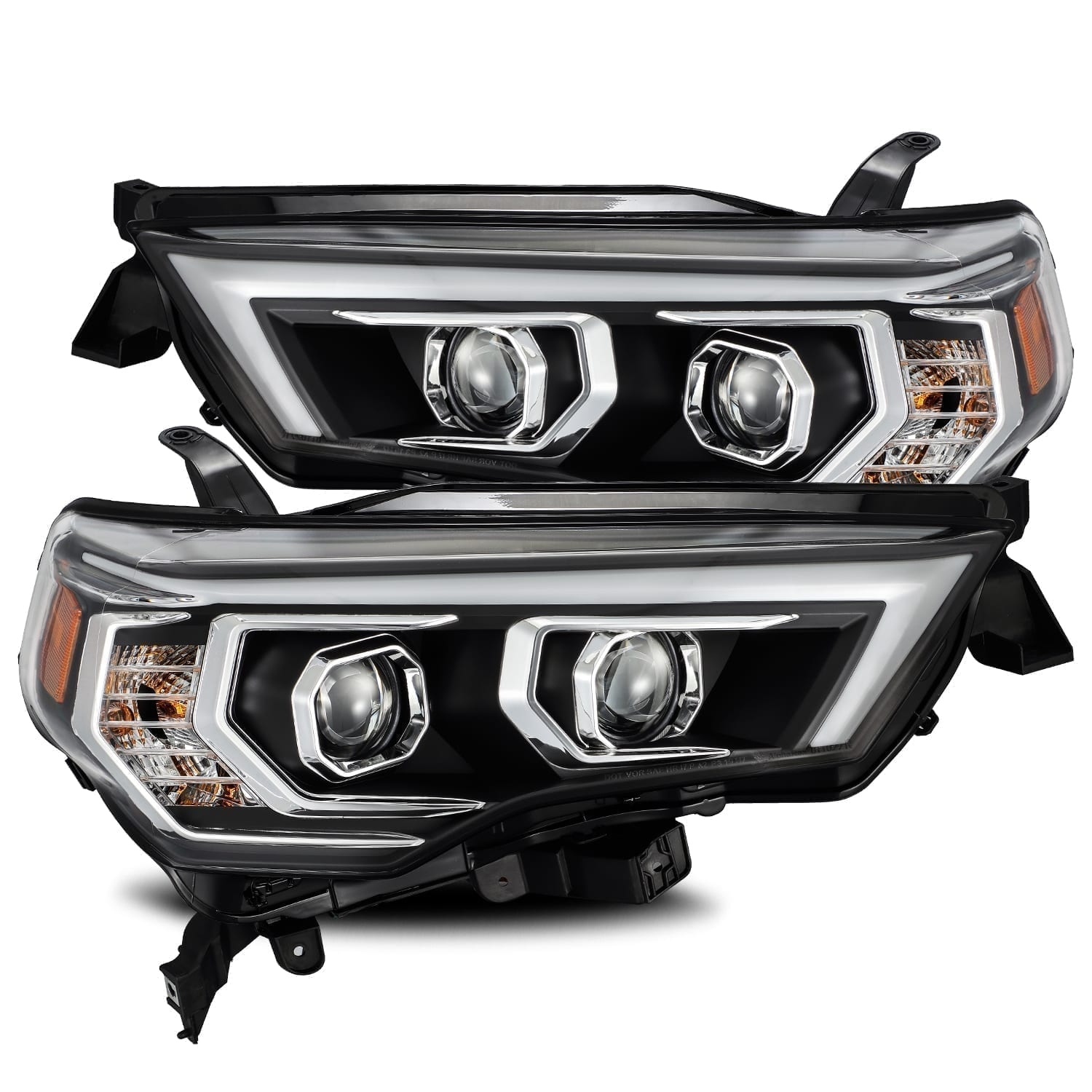 2014 2015 2016 2017 2018 2019 2020 Toyota 4Runner PRO-Series Projector Headlights Black