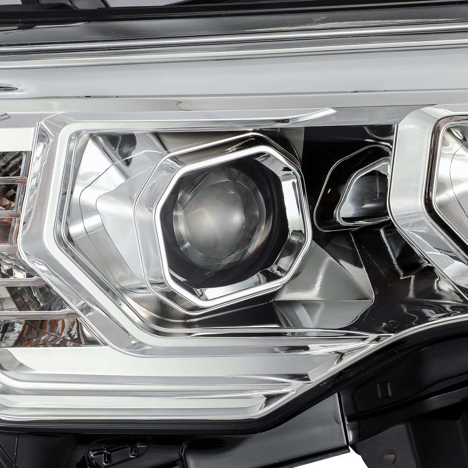 2014 2015 2016 2017 2018 2019 2020 Toyota 4Runner PRO-Series Projector Headlights Chrome