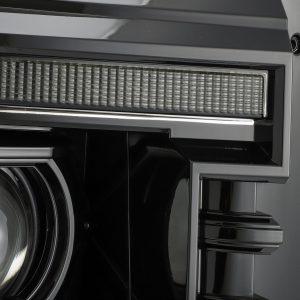 2011 2012 2013 2014 2015 2016 Ford F250 F350 F450 F550 Super Duty PRO-Series Luxx-Series Projector Headlights Midnight Black