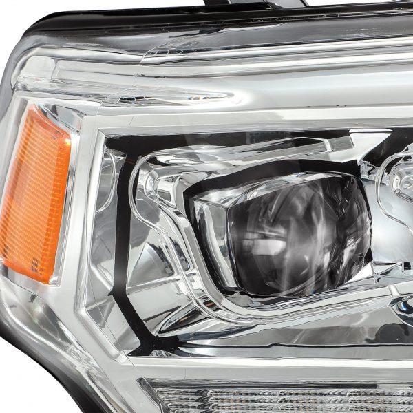 2014 2015 2016 2017 2018 2019 2020 Toyota 4Runner NOVA-Series Full LED Projector Headlights Chrome