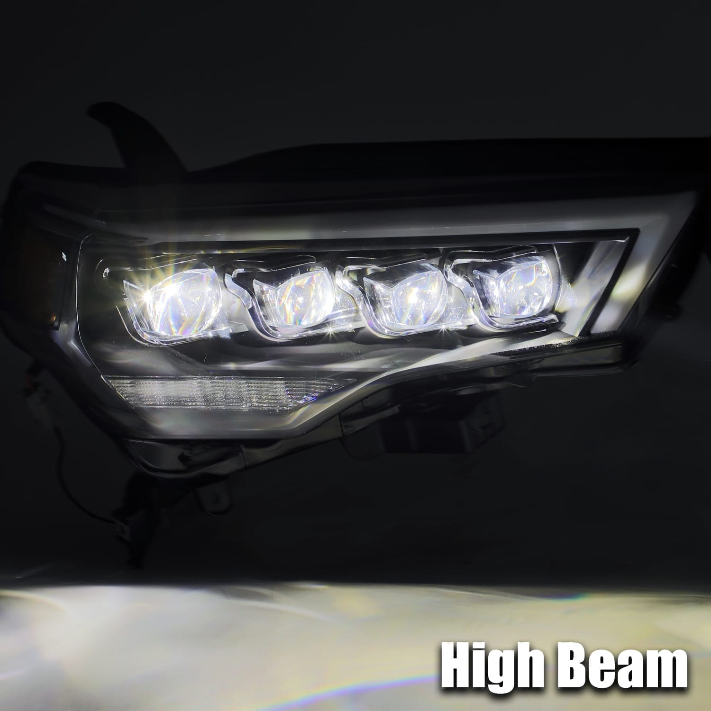 2014 2015 2016 2017 2018 2019 2020 Toyota 4Runner NOVA-Series Full LED Projector Headlights
