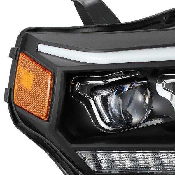 2014 2015 2016 2017 2018 2019 2020 Toyota 4Runner NOVA-Series Full LED Projector Headlights Black