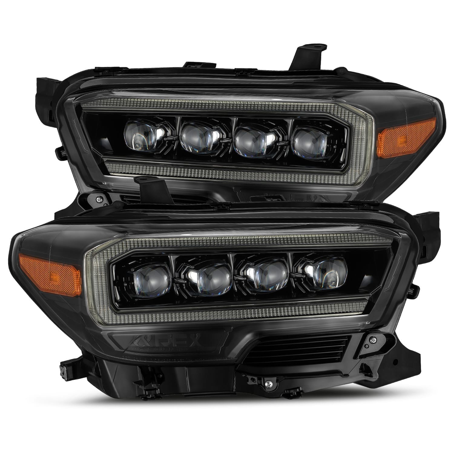 2016 2017 2018 2019 2020 Toyota Tacoma NOVA-Series Full LED Projector Headlights Midnight Black