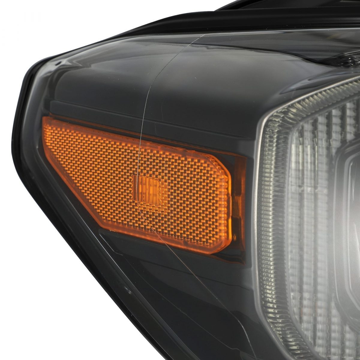 2016 2017 2018 2019 2020 Toyota Tacoma NOVA-Series Full LED Projector Headlights Midnight Black