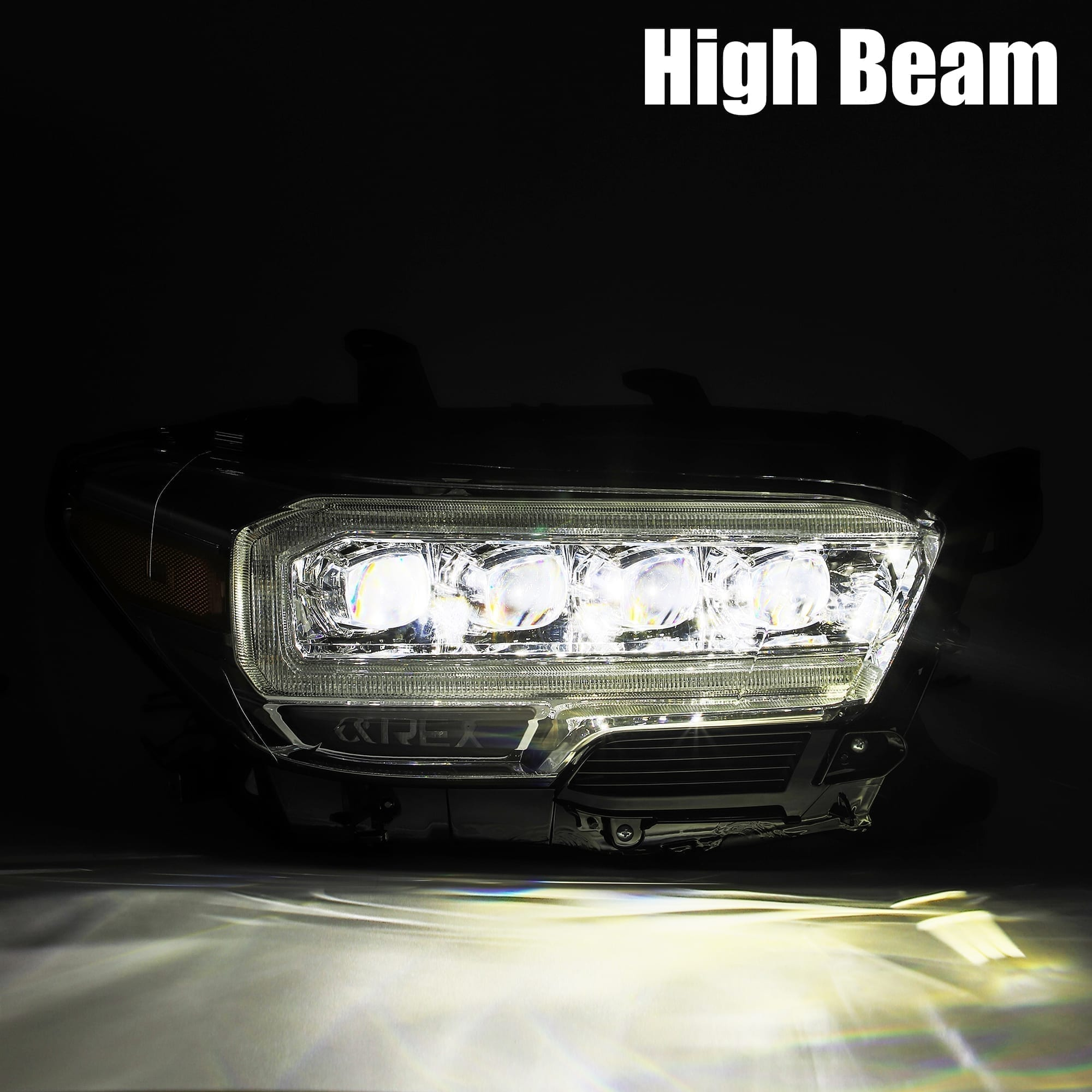 2016 2017 2018 2019 2020 Toyota Tacoma NOVA-Series Full LED Projector Headlights
