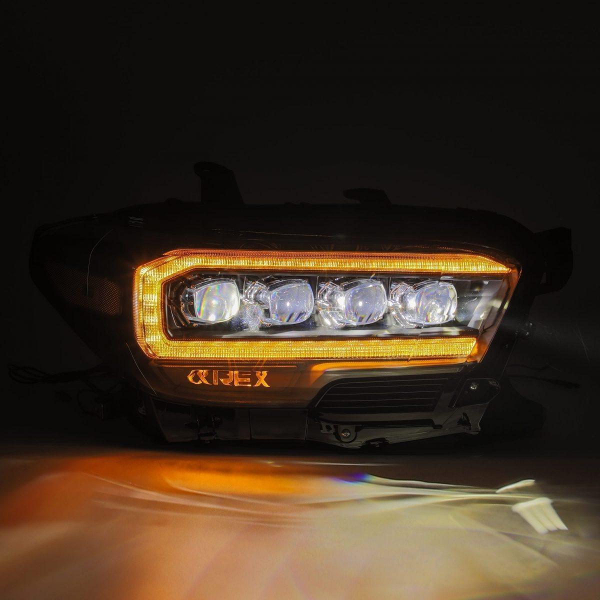 2016 2017 2018 2019 2020 Toyota Tacoma NOVA-Series Full LED Projector Headlights