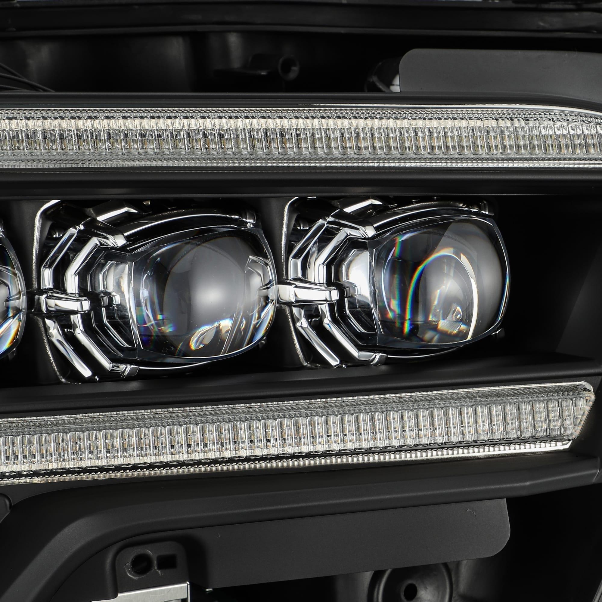 2016 2017 2018 2019 2020 Toyota Tacoma NOVA-Series Full LED Projector Headlights Black