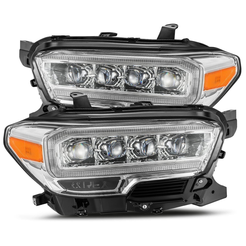 2016 2017 2018 2019 2020 Toyota Tacoma NOVA-Series Full LED Projector Headlights Chrome