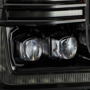 2018 2019 2020 Ford F150 NOVA-Series LED Projector Headlights Mid-Night Black