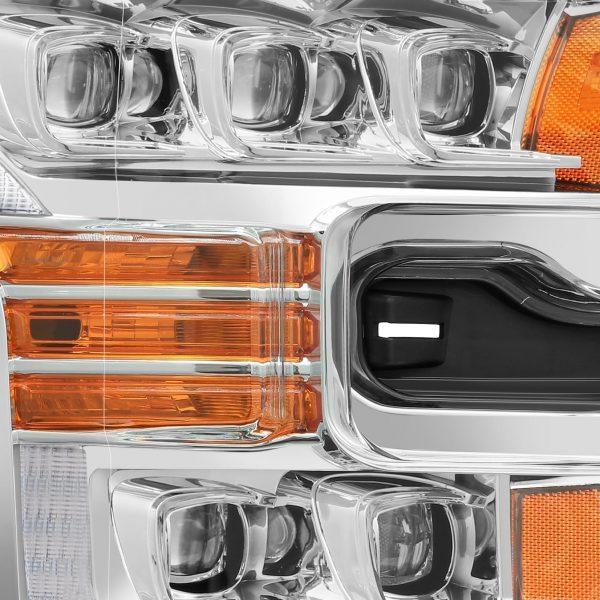 2015 2016 2017 Ford F150 NOVA-Series LED Projector Headlights Chrome