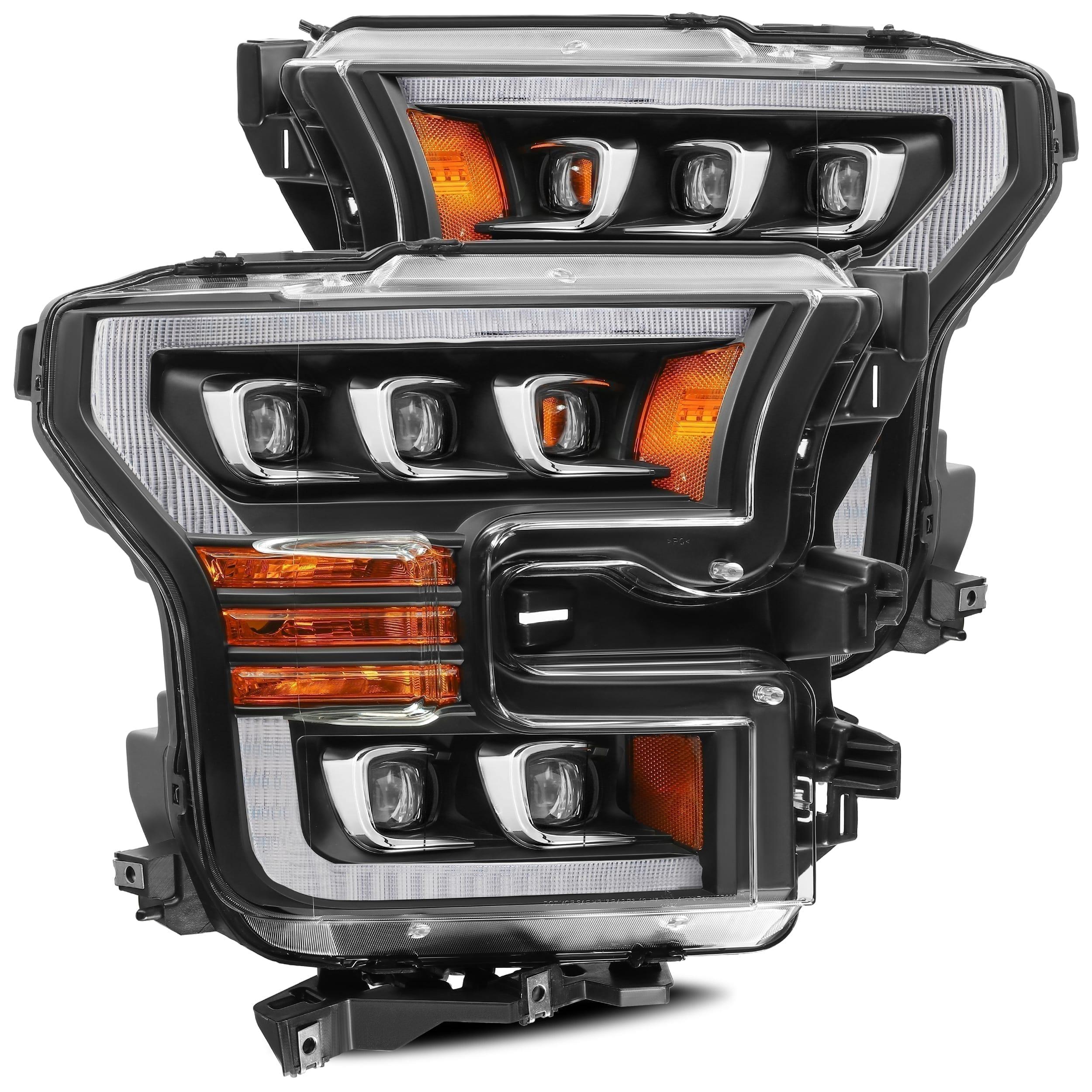 2015 2016 2017 Ford F150 NOVA-Series LED Projector Headlights Black