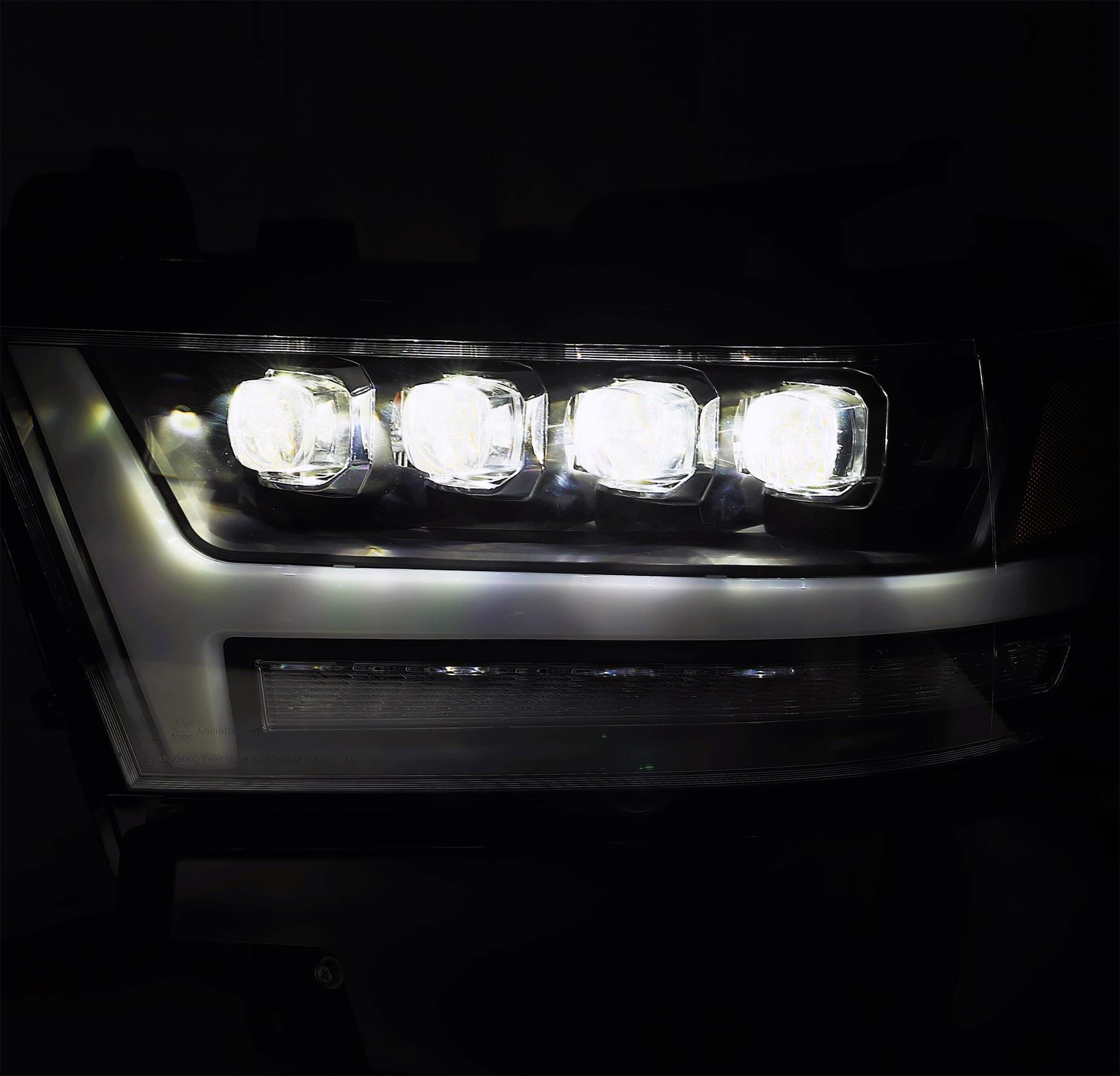 2019 2020 Ram 1500 NOVA Series LED Projector Headlights