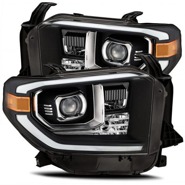 2014 2015 2016 2017 2018 2019 2020 Toyota Tundra PRO-Series Projector Headlights Black